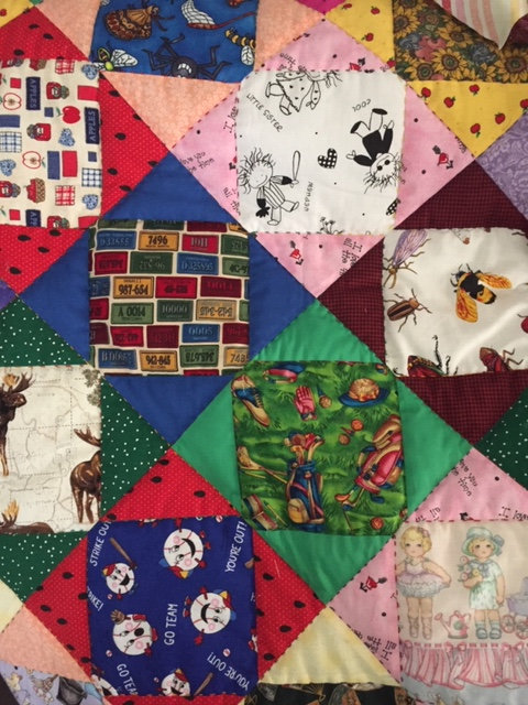 I Spy Quilt by Shirlene Crowther
