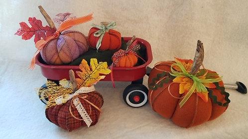 Pumpkin Patch Pumpkins by Lynette Bingham