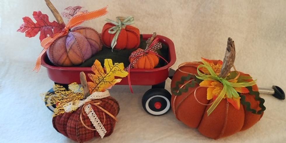 Pumpkin Patch Pumpkins by Lynette Bingham - Friday Morning 9-12