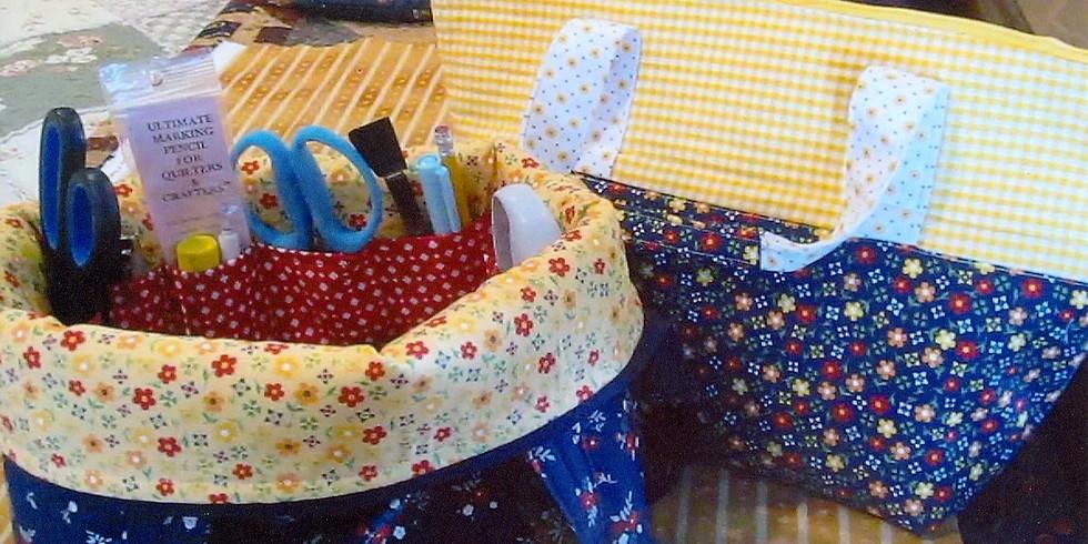 Mega Notion Bag by Ronnie Badgett - Saturday Morning 9-12