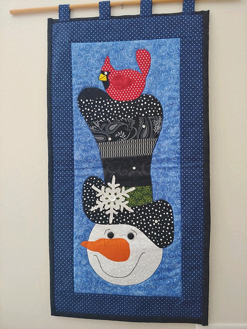 Frosty Wall Hanging by Margie Larson