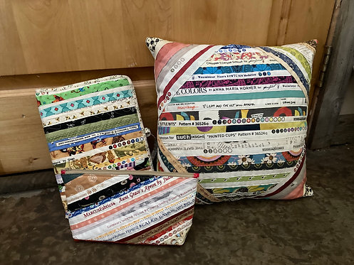 Small Selvage Bags byTwila Gutierrez & Cadence Thatcher