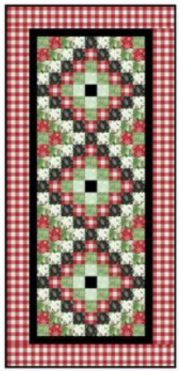 Scrappy Tree or Table Runner by Carmen Geddes
