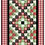 Thumbnail: Scrappy Tree or Table Runner by Carmen Geddes