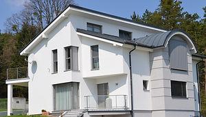 modernes Wohnhaus individuelle Planung