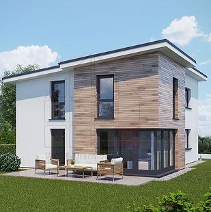 Passivhaus, KfW 40 Haus, Wohnhaus, Selbstbausatz, Bausatz, billig bauen, Kernhaus, Kern Haus, Duo Therm, das-Mauerwek,