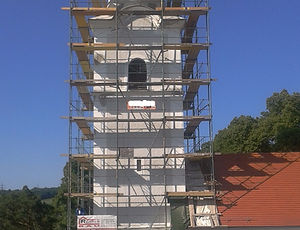 Sanierung Kirchensanieung Fassadensanierun Kulturgüter erhalten