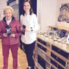 Angelika Volquartz mit Morlen Heinemann im mmhio