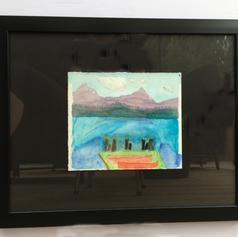 Memories of Lake Garda by Cora