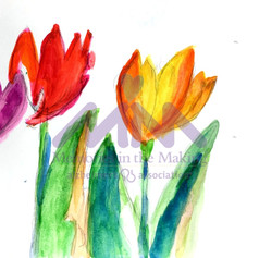 Looks Like Tulips by Chie Farinelli