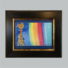 Rainbow after the Rain by Mary LaPradd