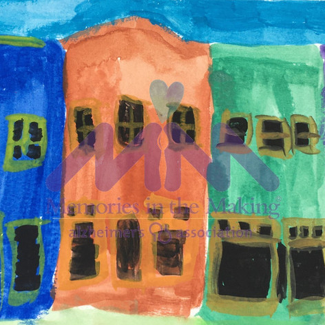 Mexican Town by Mary LaPradd