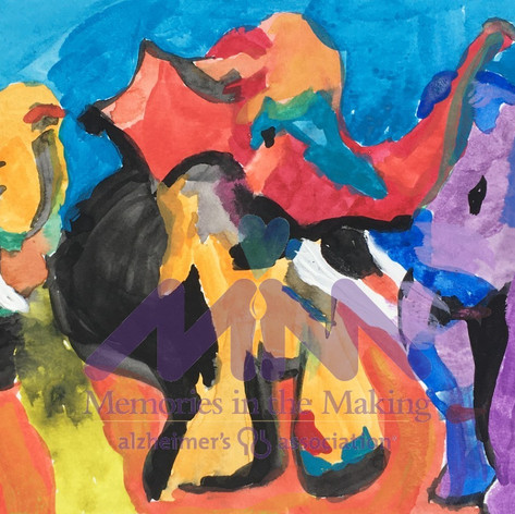 Three Colorful Elephants by Mary LaPradd