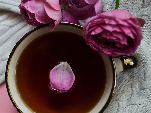 Blackcurrant and rose Kombucha