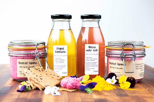 Hibiscus water kefir