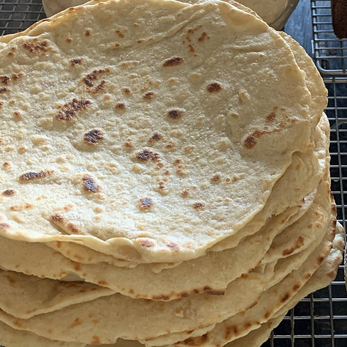 Sourdough flatbreads