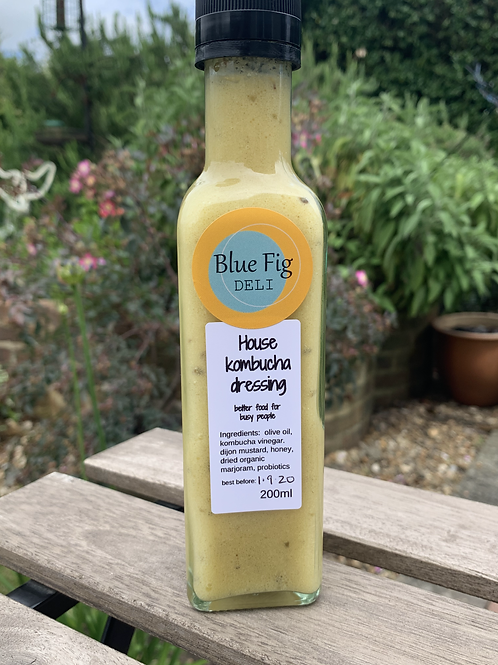 House Kombucha dressing