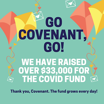 The fund grows every day! Visit covenant