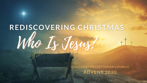"Blog Post: Pastor Jeff Reflects on ""Jesus as Emmanuel"""