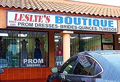 Leslye' Boutique Store Front