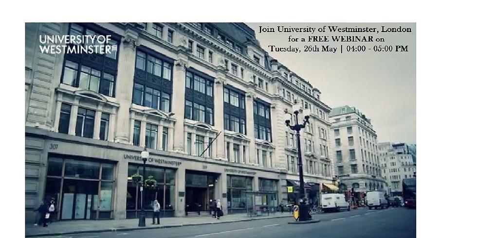 University of Westminster Webinar