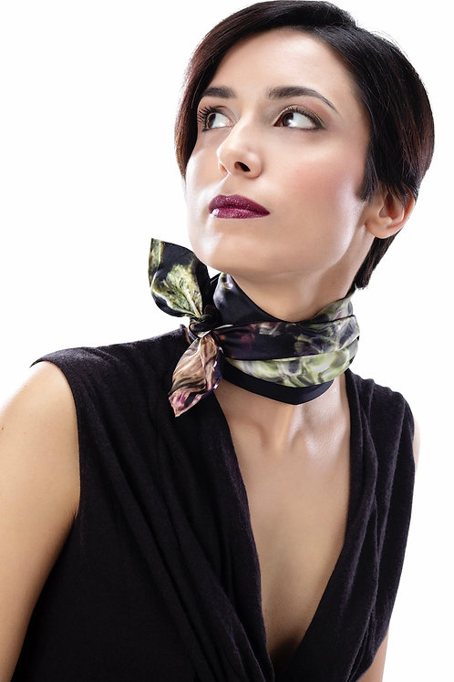 Foulard Silk Twill   Adima-Mauve