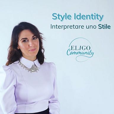 Nuovo corso nella nostra Eligo Academy: L'arte dello Stile a cura di Erica Marigliani
