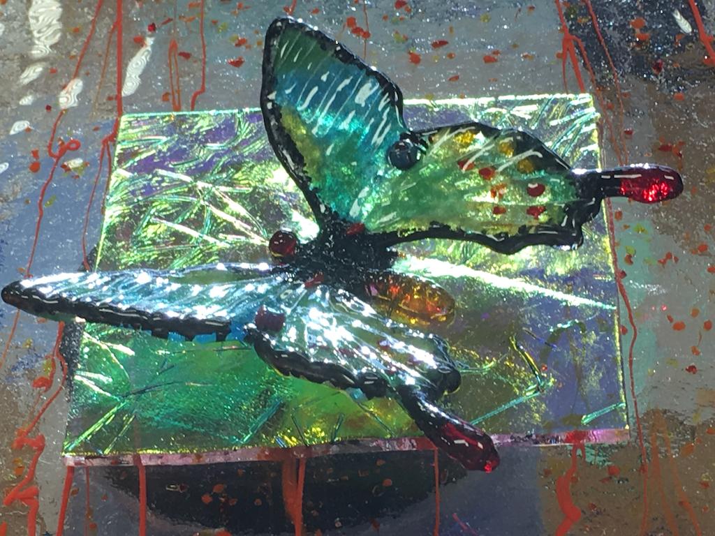 Slumped Butterfly