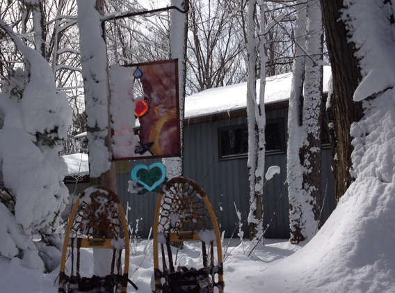 Stained Glass in Winter