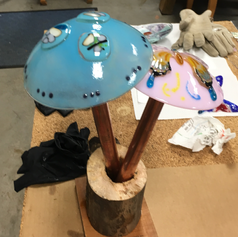 Turquoise Musroom