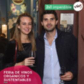 Flyer Prensa Feria de Vinos Orgánicos y Sustentables PROMO 2x1