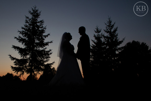 Country Wedding Silhouette