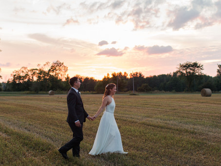 Katherine and Tyke's Country Wedding