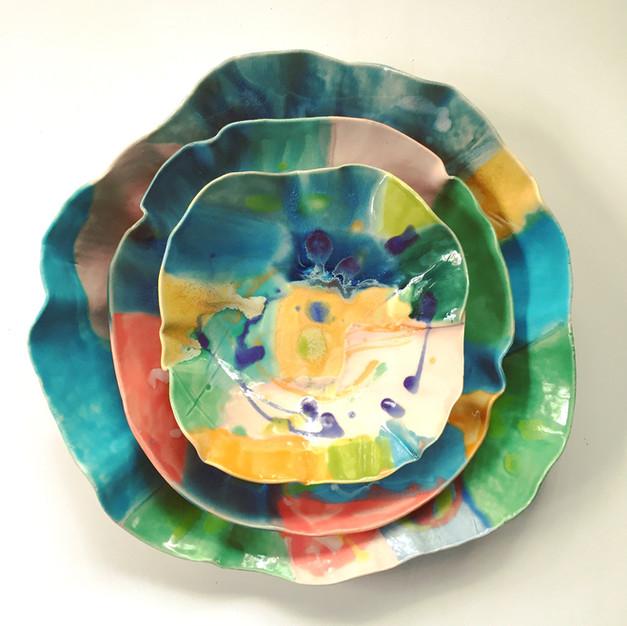 Abstract bowls