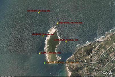 Actividades de buceo cerca de nuestro camping en la Isla de Santa Marina