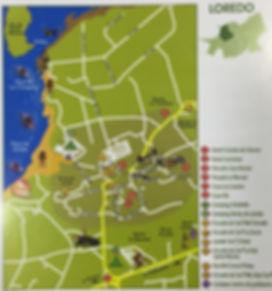 Mapa de Loredo en Cantabria