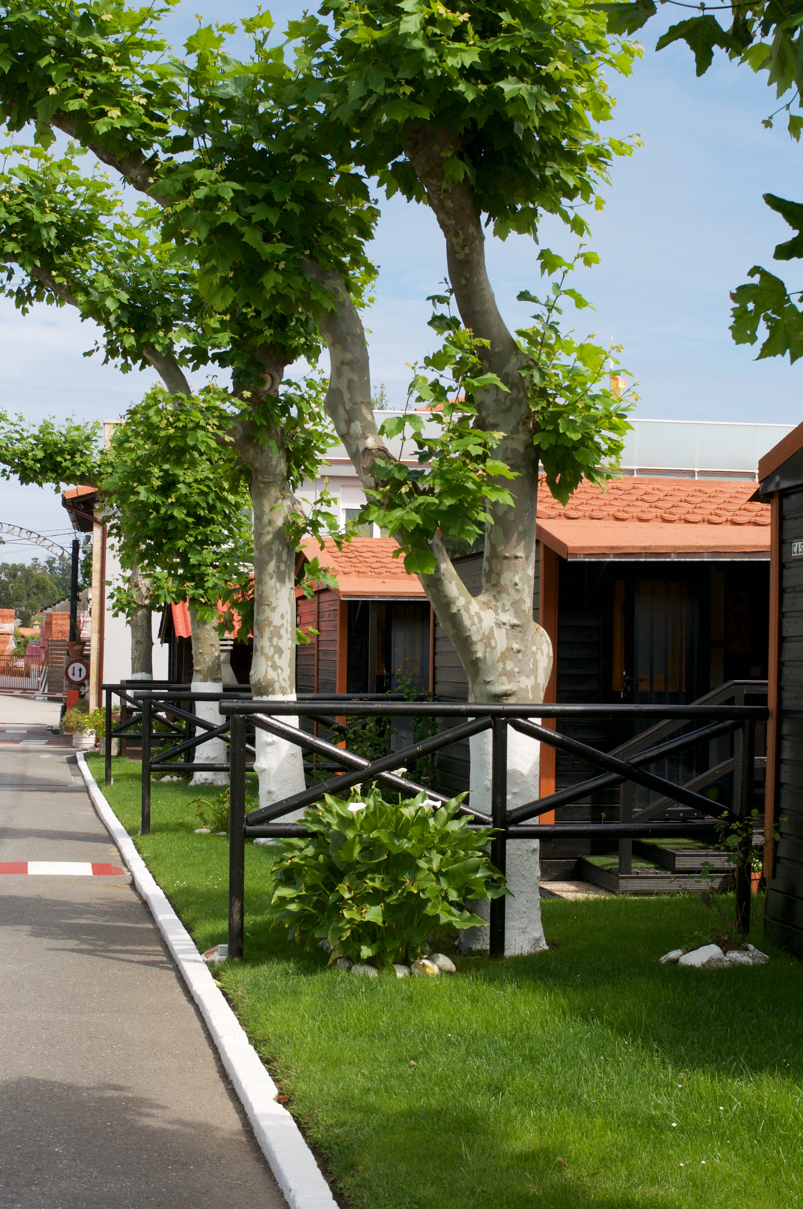 Exteriores calle bungalows