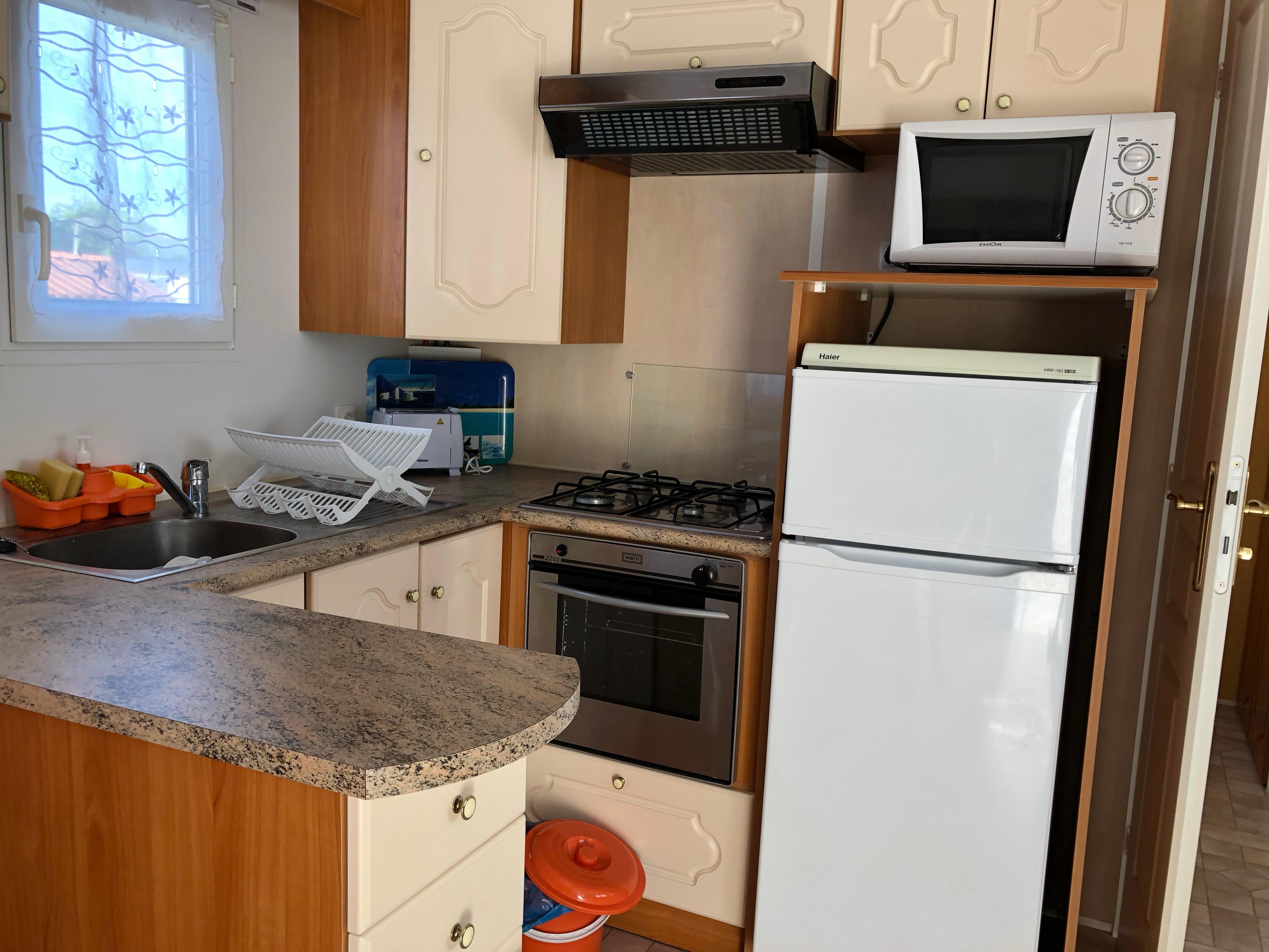 Cocina mobile home