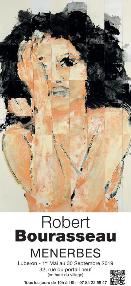 Robert Bourasseau expose dans le Lubéron à la galerie de Ménerbes - 32, rue du Portail Neuf du 1er m