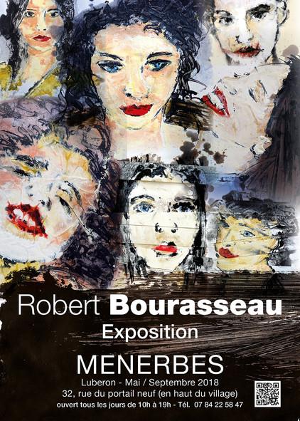 Robert Bourasseau expose à Ménerbes de mai à septembre 2018