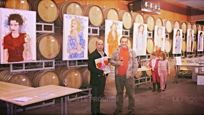 Actualité - Journal Le Progrès, Loire - La cave Yves Cuilleron veut mélanger l'art et le vin