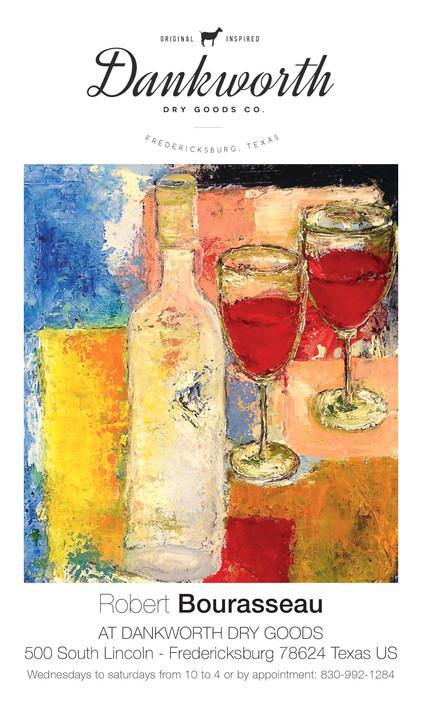 """Exposition Permanente Robert Bourasseau """" Paintings """" gallery Dankworth Dry Goods"""