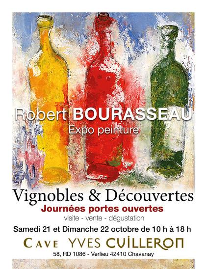 Visite, vente & dégustation le samedi 21 & dimanche 22 octobre 2017 - Robert Bourasseau expo