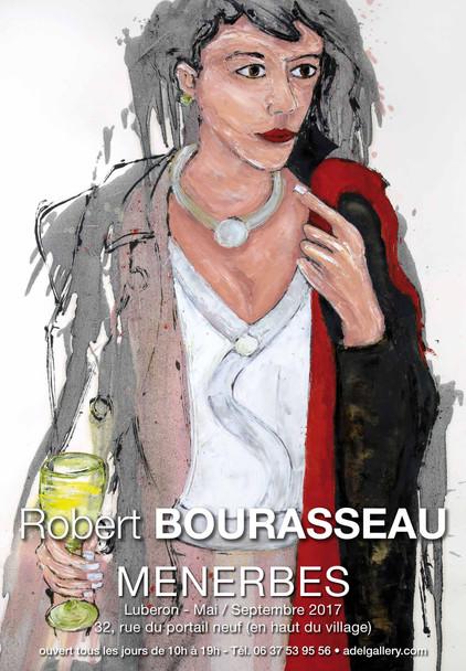 Galerie A.DEL Ménerbes - Robert Bourasseau expose de mai à septembre 2017