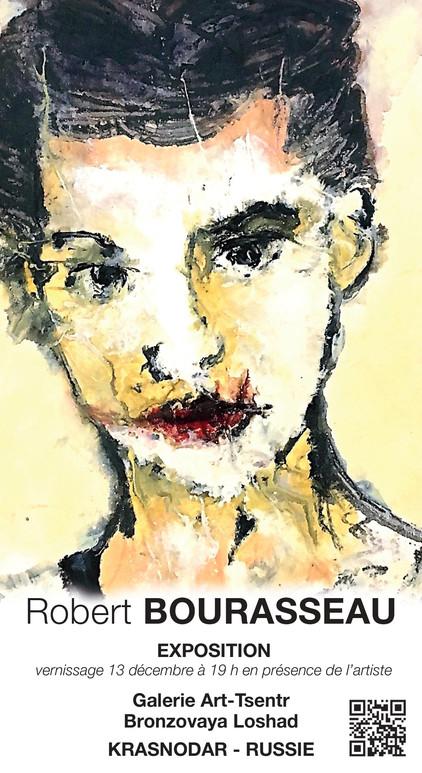 Robert Bourasseau expose le 13 décembre 2018 en Russie à la galerie Art - Tsentr - Bronzovaya Loshad