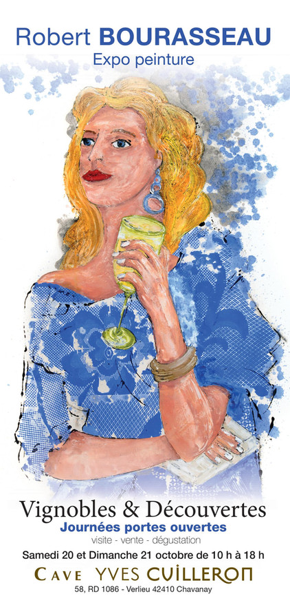 Exposition et dégustation de vins à la cave de Yves Cuilleron -le samedi 20 octobre et le dimanche 2
