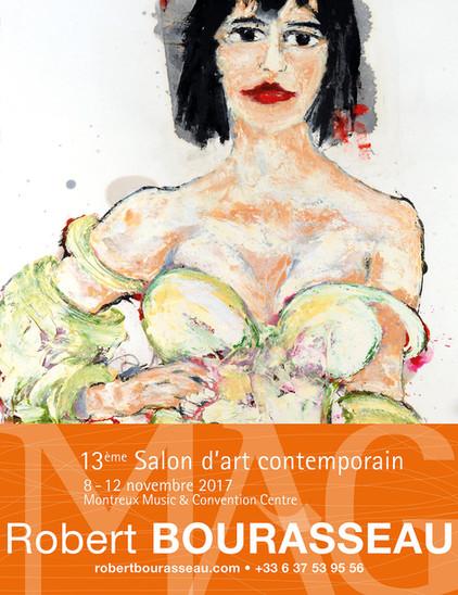 Du 8 au 12 novembre - Robert Bourasseau exposera ses oeuvres au 13ème salon d'art contemporain d
