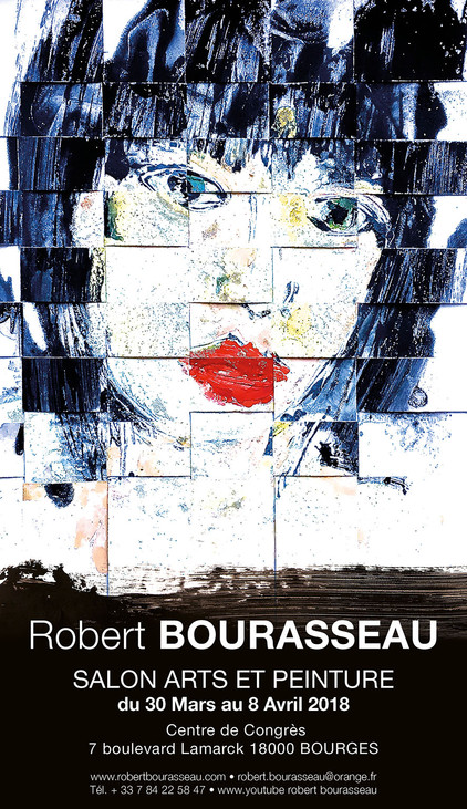 Robert Bourasseau exposera du 30 mars au 8 avril 2018 au SALON INTERNATIONAL ARTS ET PEINTURE, Centr