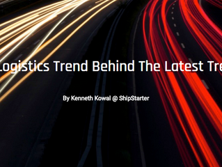 The Logistics Trend Behind The Latest Trend