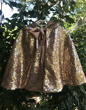 Sequin Travelling Cape